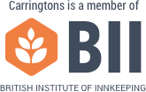 Carringtons is a member of the British Institute of Innkeeping